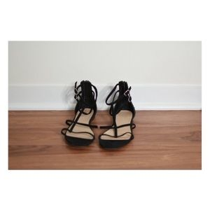 J Crew suede strappy gladiator sandals